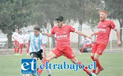 Benjamín Gazzolo fue convocado para el microciclo correspondiente a esta semana de la selección chilena U23.