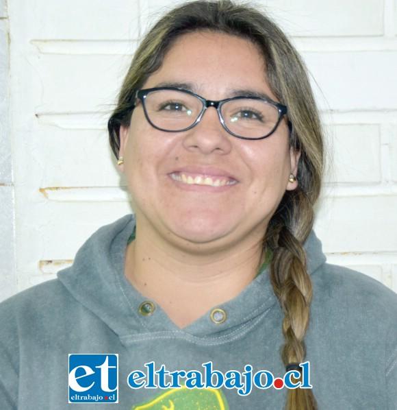 Prisilla Cantillano, madre del bebé y tesorera de la fundación.