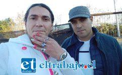 FUERON DETENIDOS.- Rodrigo López (María del Pilar) y Javier Cortés son las personas a quienes Carabineros detuvieron por mantener un local clandestino de venta de alcohol.