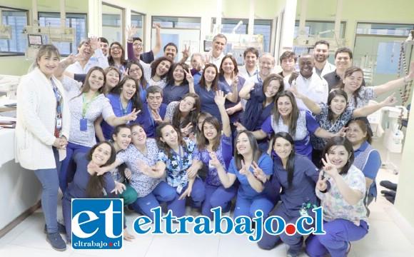 Personal de la UCI del Hospital San Camilo estuvo celebrando los 25 años de su creación.
