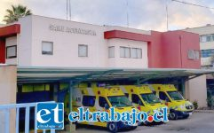 El paciente de 39 años de edad fue derivado hasta el servicio de urgencias del Hospital San Camilo de San Felipe la tarde ayer jueves.