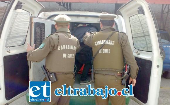 El imputado fue detenido en el mes de julio del año 2017 por Carabineros de la comuna de Llay Llay. (Foto Referencial).