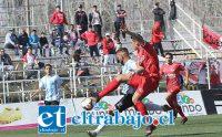 Jesús Pino estuvo en su tarde al ganar todos los duelos individuales y anotar el gol del triunfo sanfelipeño. (Foto: Gentileza Oscar Tapia/Magallanes)