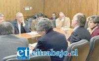 El alcalde Guillermo Reyes se reunió con el Ministro de Agricultura Antonio Walker este lunes en dependencias del mismo ministerio.