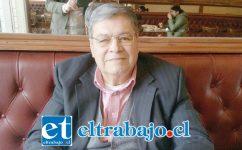 Rolando Stevenson Velasco, CORE provincia de San Felipe.