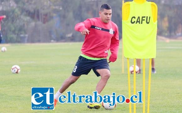 Está en duda la presencia de Luciano Romero en el juego contra Cobreloa.