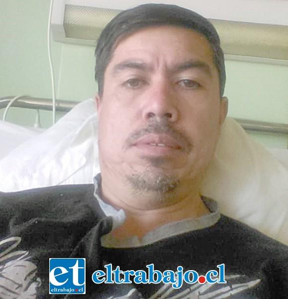 Manuel Lobos, vecino sanfelipeño que sigue necesitando ayuda de sus amigos.