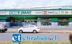Delincuentes ingresaron hasta la Ferretería Agrasan Chile Mat ubicada en avenida O'Higgins esquina Portus en San Felipe la madrugada de este lunes.