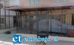 Este es el local ubicado en Calle Chorrillos que fue asaltado el jueves en la mañana.