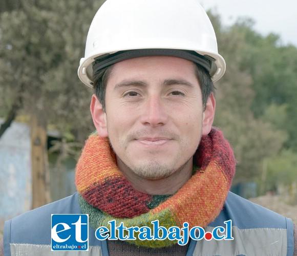 Gino Mori, profesional autocontrol de la empresa Ágora.