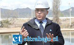 Ennio Canessa, Subgerente zonal de Esval.