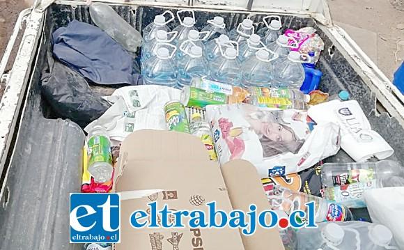 La comunidad educativa se organizó para recolectar diversos recursos e ir en ayuda de los sectores afectados por la sequía.