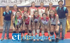 Este es el campeón nacional de la categoría Sub-18 del Liceo Bicentenario Cordillera que se alzó con la importante victoria.
