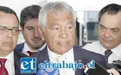 Iván Reyes Figueroa, presidente Comisión de Recursos Hídricos del Consejo Regional.
