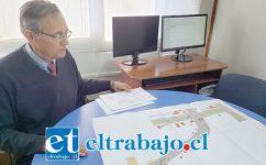 El director de Tránsito Municipal, Guillermo Orellana, afirmó que estas primeras obras finalizarán a fines de noviembre.