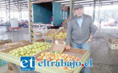 Héctor Estay, presidente de la Asociación de Feriantes Mayoristas (Afema).