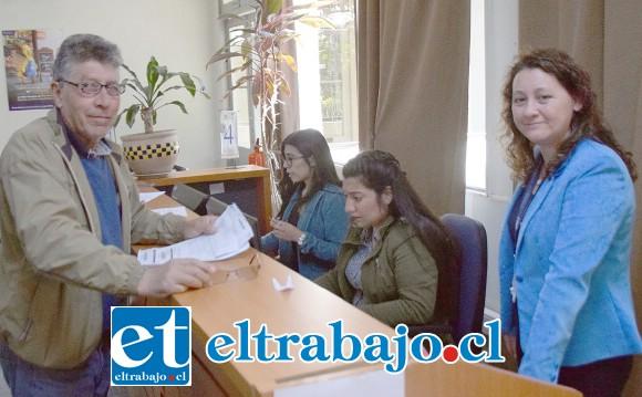 AMPLIO HORARIO.- El horario de las oficinas de TGR en San Felipe es de las 8:40 a las 14:00 horas, de lunes a viernes.