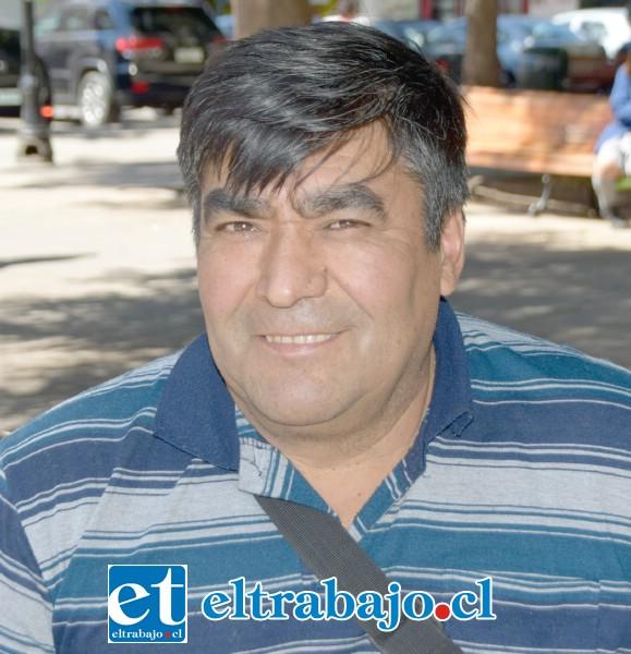 Juan González Ponce, artesano en fierro.