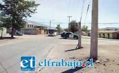 Este es el lugar donde se reúne gran cantidad de haitianos, especialmente en la mañana tipo 07:00 horas para salir a sus trabajos. (Gentileza RP).