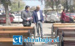Con esta entrega de 28 nuevos escaños se llega 150 nuevos asientos que se han renovado en la gestión del alcalde Patricio Freire.
