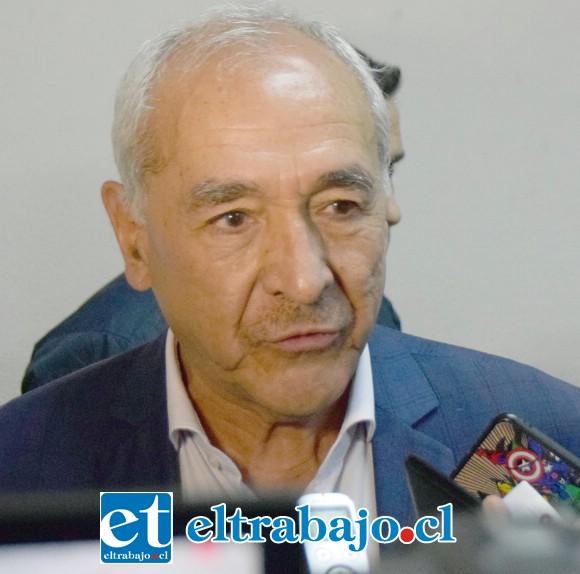 Patricio Freire Canto, alcalde de San Felipe.
