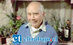 Julio Cossio Cariaga falleció a la edad de 78 años de edad.