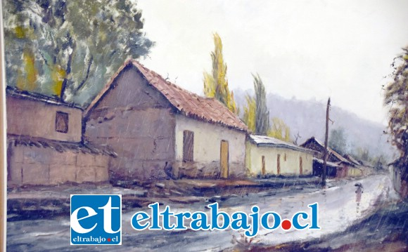 IMPERDIBLE.- Muchas son las obras de este fructífero artista del pincel que estarán en exhibición a partir de hoy y hasta el 31 de octubre.