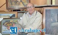 HOY EN BUEN PASTOR.- Raúl Pizarro Galdámez, casado con Beatriz Gajardo y padre de seis hijos.