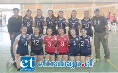 Acá vemos al equipo campeón del torneo internacional ARV desarrollado en Santiago, a cargo del profesor Eduardo Chávez.