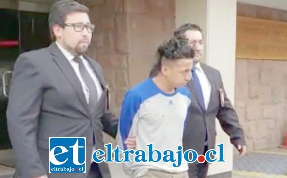La PDI detuvo al supuesto agresor, quien quedó detenido por el delito de Femicidio Frustrado.