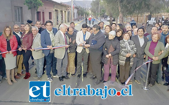 El alcalde Patricio Freire encabezó la ceremonia de inauguración calificada de histórica, pues era el sueño de la comunidad desde hace más de 30 años.