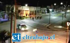 Video circuló por redes sociales titulándose como el robo de una patrulla policial, siendo desmentido por Carabineros.
