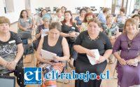 CABILDO FEMENINO.- Decenas de mujeres sanfelipeñas participaron activamente en este Cabildo Femenino, desarrollado por funcionarios municipales.