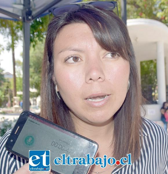 Patricia Castillo, terapeuta familiar de la Oficina Local de la Niñez.