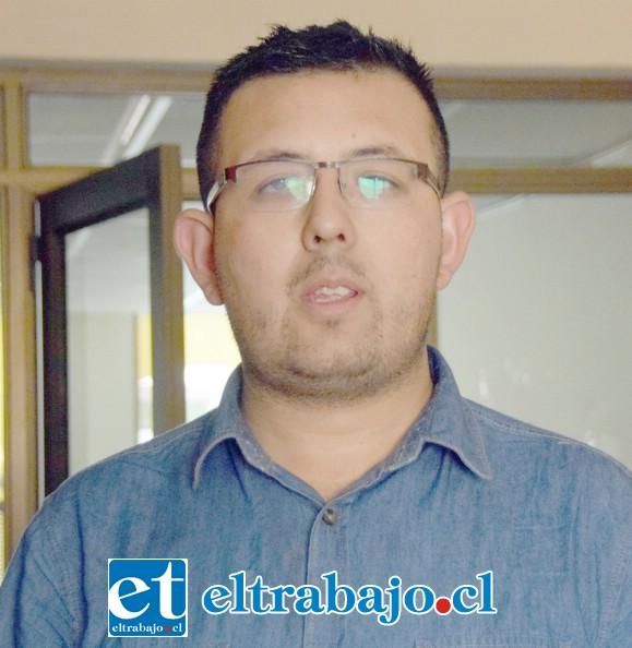 Raúl Yáñez Cádiz, coordinador del grupo social Goodwill (Buena voluntad).