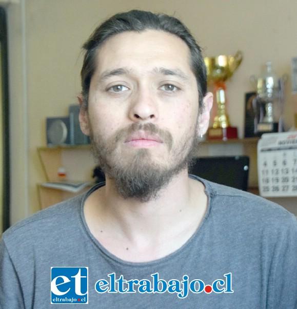 Alfredo Córdoba, coordinador y técnico del proyecto Teatro pedagógico.
