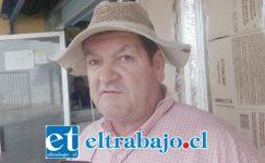 Francisco Lorca Contreras, ex trabajador agrícola afectado.