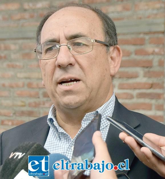 Gobernador de San Felipe, Claudio Rodríguez Cataldo.