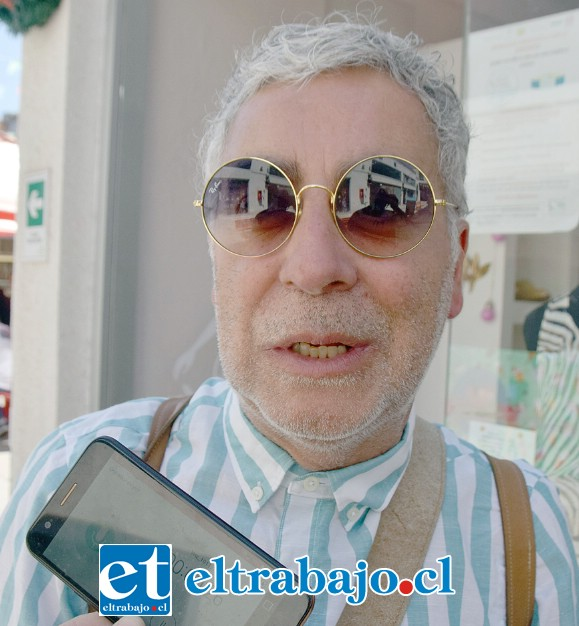 Juan Carlos Sabaj, comerciante sanfelipeño y concejal de la comuna.