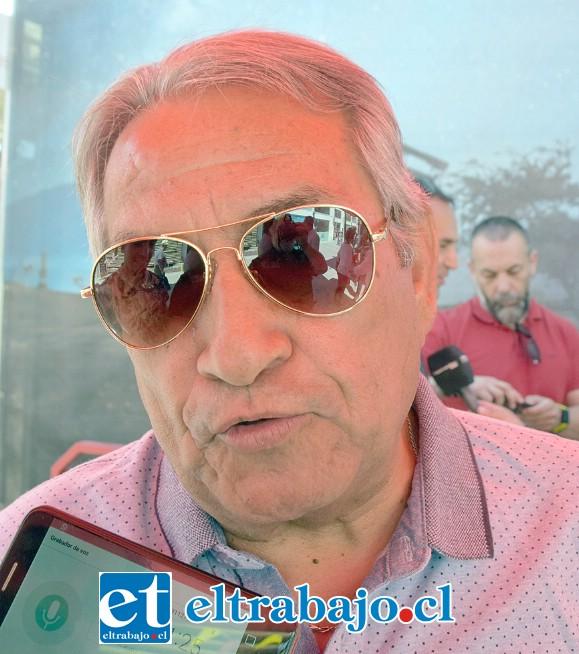 Pedro Vega Balboa, gerente de Sedent San Felipe.