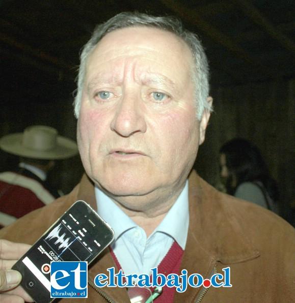 Luis Pradenas, alcalde de Panquehue.