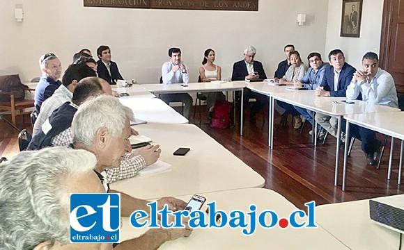 Al encuentro asistieron también representantes del Ministerio de Obras Públicas, Autopista Los Libertadores, funcionarios de municipalidades de Los Andes y San Felipe, Casino Enjoy, Buses Ahumada, transportistas y funcionarios del Puerto Terrestre Los Andes.