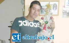 Juan Carlos Berríos Munizaga, de 29 años de edad, permanece grave en la UCI del Hospital San Camilo de San Felipe.