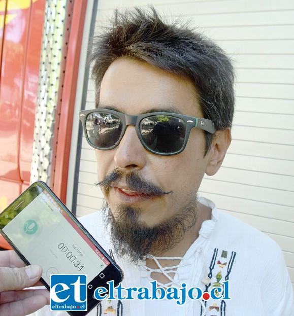 Alberto 'Beto' Molina, uno de los organizadores del evento.