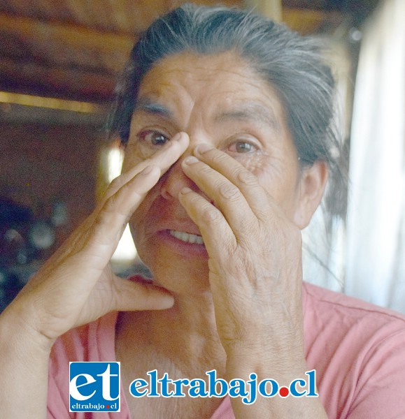 Llorando, Ana Cabello nos relató el drama que vive ella, su marido y los animales a su cuidado.