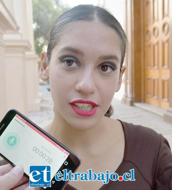 Catalina Villegas, bailarina de 17 años de edad.