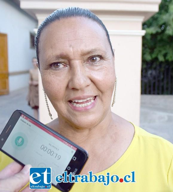 Profesora del Taller Comunal de Danza, Lucía Hernández.