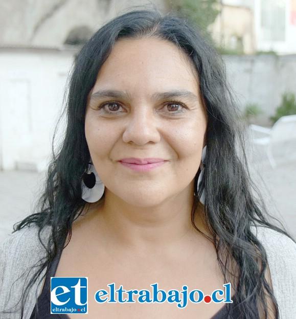 Patricia Lolas Arancibia, coordinadora de la oficina de Cultura y Recreación.