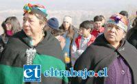La actividad está en el marco de un proyecto que se adjudicó el Centro de Salud Familiar José Joaquín Aguirre, de Calle Larga y la Agrupación de Grupos Originarios 'Futa Repu'.