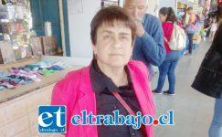 Julia Urquieta Olivares, abogada de los trabajadores.